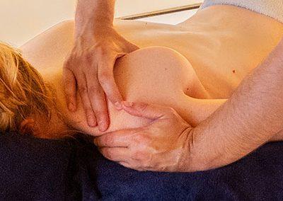 Massage suédois, profond